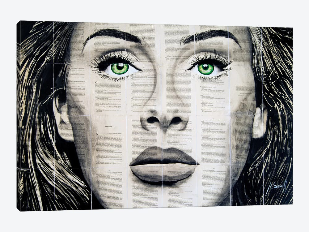 Adelle by Ahmad Shariff 1-piece Canvas Art Print