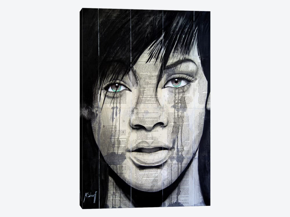 Rihanna II by Ahmad Shariff 1-piece Canvas Artwork