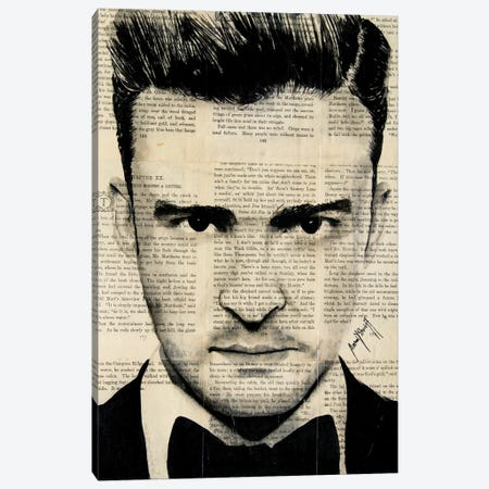 Timberlake Canvas Print #AHS41} by Ahmad Shariff Art Print