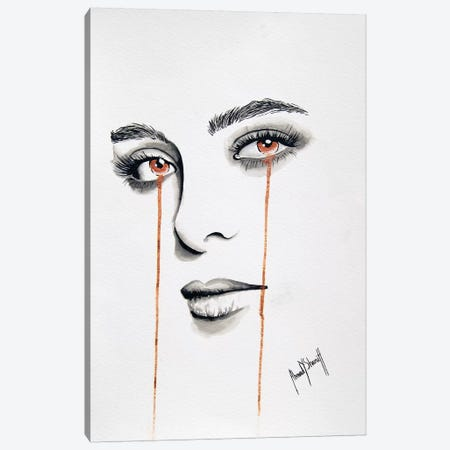 La Femme de Mon Ami I Canvas Print #AHS51} by Ahmad Shariff Canvas Art