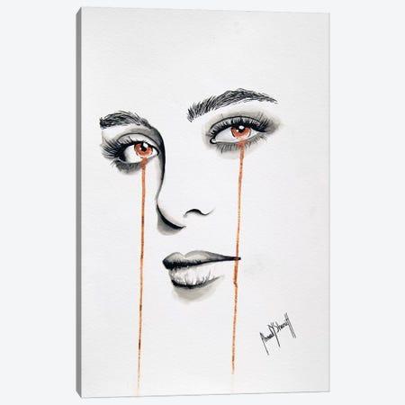 La Femme de Mon Ami I Canvas Print #AHS51} by Ahmad Shariff Canvas Art