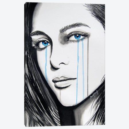 La Femme de Mon Ami II Canvas Print #AHS52} by Ahmad Shariff Canvas Art