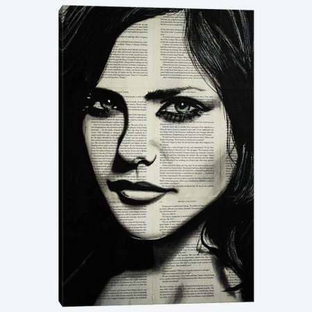 Fiona II Canvas Print #AHS57} by Ahmad Shariff Art Print