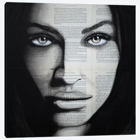 Fox Canvas Print #AHS58} by Ahmad Shariff Canvas Wall Art