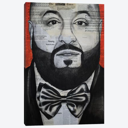 Khaled Canvas Print #AHS59} by Ahmad Shariff Canvas Wall Art