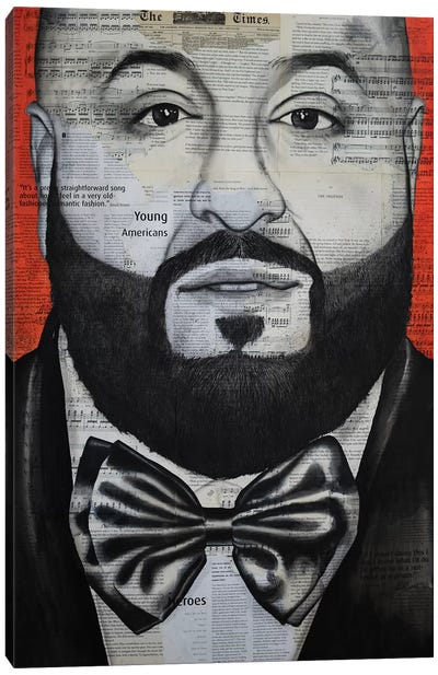 Khaled Canvas Art Print