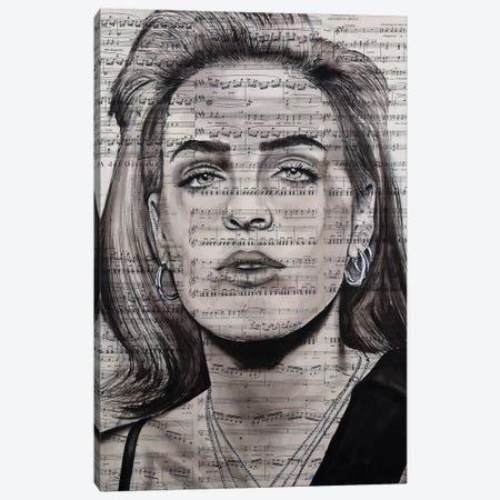 Anne Marie Canvas Print #AHS60} by Ahmad Shariff Canvas Art Print