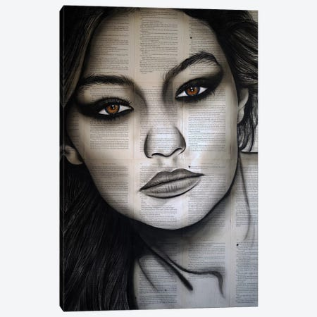 GIGI Canvas Print #AHS61} by Ahmad Shariff Canvas Print