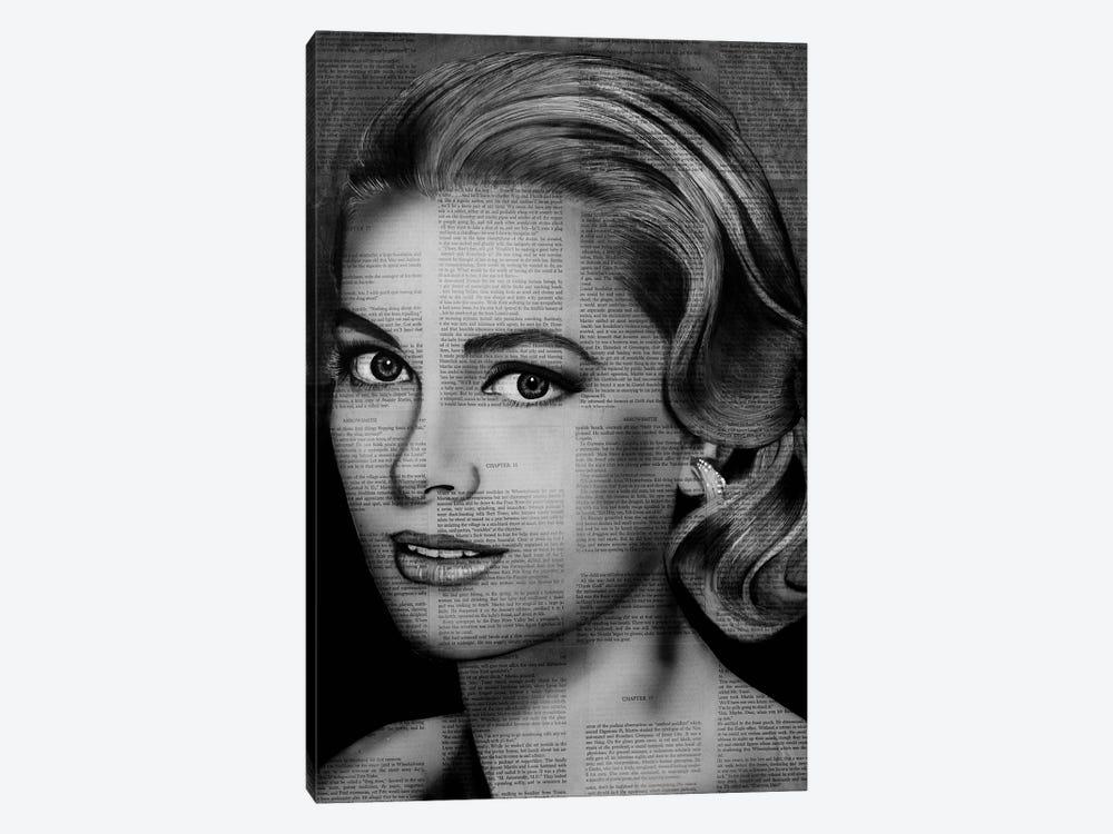 Grace Kelly by Ahmad Shariff 1-piece Canvas Wall Art