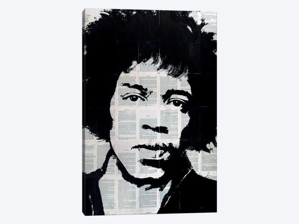 Jimi Hendrix by Ahmad Shariff 1-piece Canvas Print