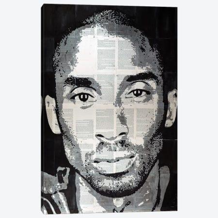 Kobe Bryant Canvas Print #AHS75} by Ahmad Shariff Art Print