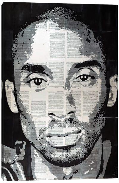 Kobe Bryant Canvas Art Print