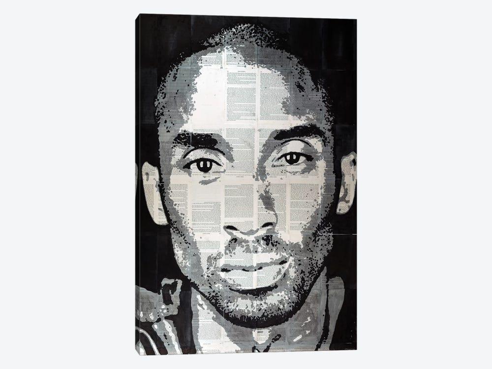 Kobe Bryant by Ahmad Shariff 1-piece Canvas Wall Art