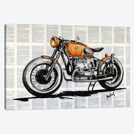 BMW R Canvas Print #AHS81} by Ahmad Shariff Art Print