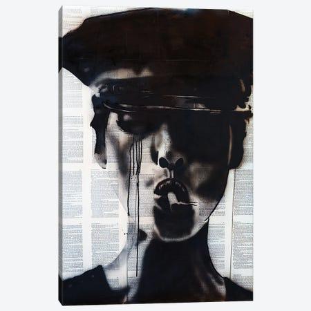 Christy Turlington Canvas Print #AHS82} by Ahmad Shariff Canvas Art Print