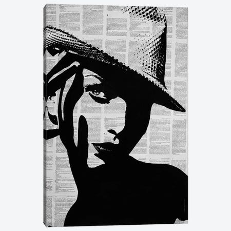 Here's Looking At You Kid Canvas Print #AHS83} by Ahmad Shariff Art Print