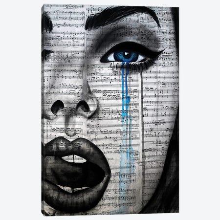 Girl Interrupted Canvas Print #AHS84} by Ahmad Shariff Canvas Art