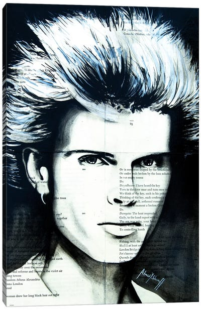 Billy Idol Canvas Art Print