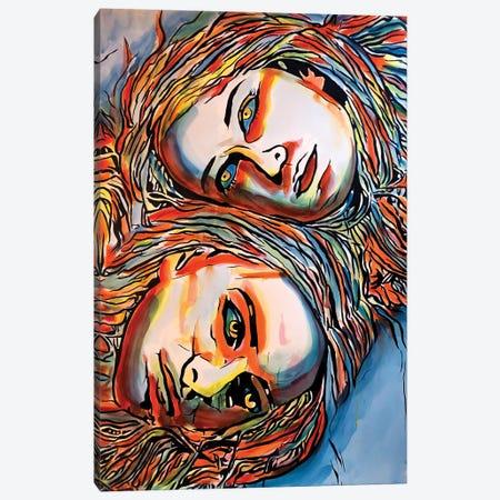 Split Canvas Print #AHS93} by Ahmad Shariff Canvas Artwork