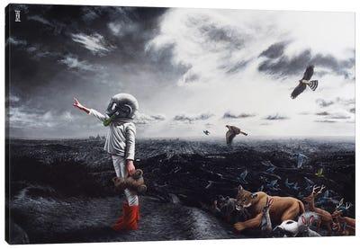 To Play Among The Stars Canvas Art Print