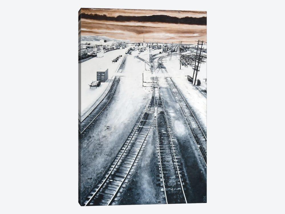 Argo Yard by Alec Huxley 1-piece Canvas Art