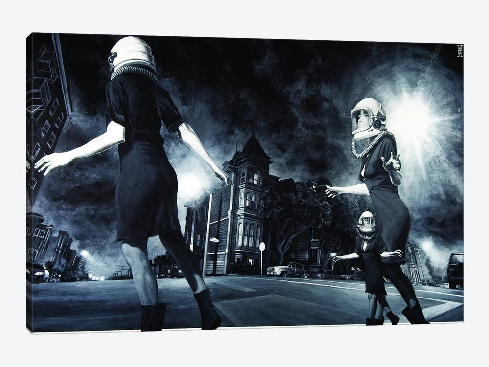 City Of Ghosts by Alec Huxley 1-piece Canvas Art