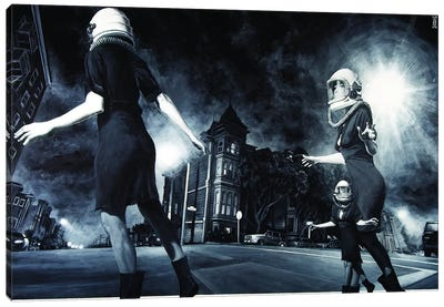 City Of Ghosts Canvas Art Print