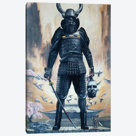 God Of War Canvas Print #AHU23} by Alec Huxley Canvas Art Print