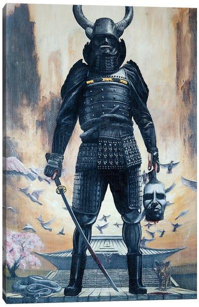 God Of War Canvas Art Print