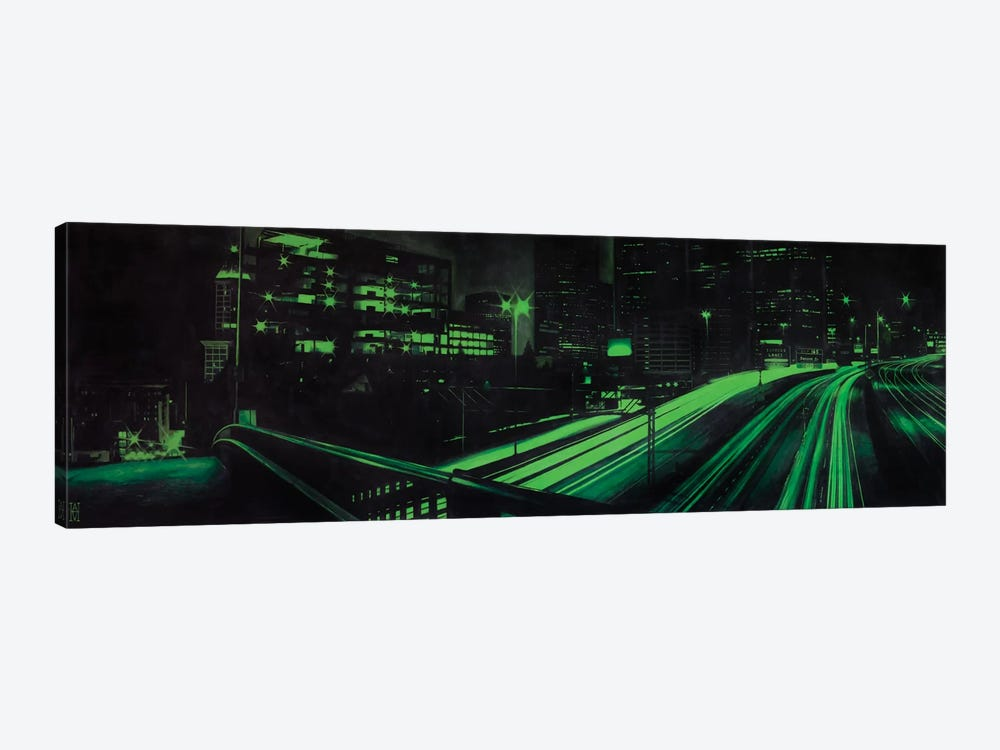 I5 Under Yesler by Alec Huxley 1-piece Canvas Art