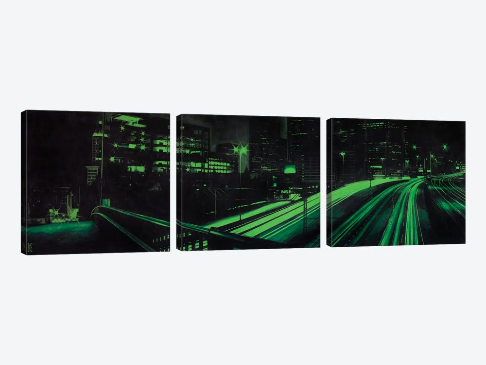 I5 Under Yesler by Alec Huxley 3-piece Canvas Artwork