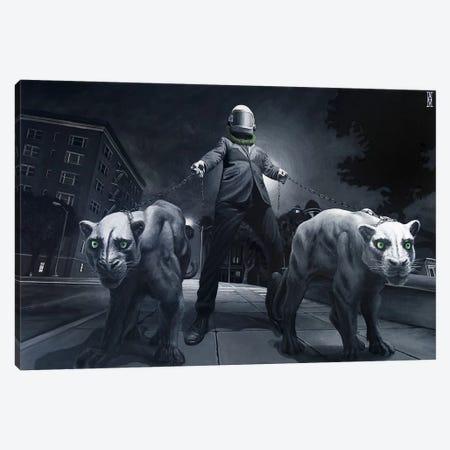 My Reflection Kills Canvas Print #AHU28} by Alec Huxley Art Print