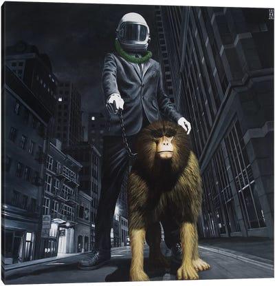 New World Monkey Canvas Art Print