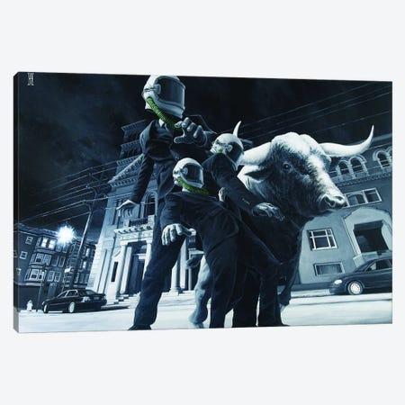 The Descent Of Man Canvas Print #AHU44} by Alec Huxley Canvas Artwork