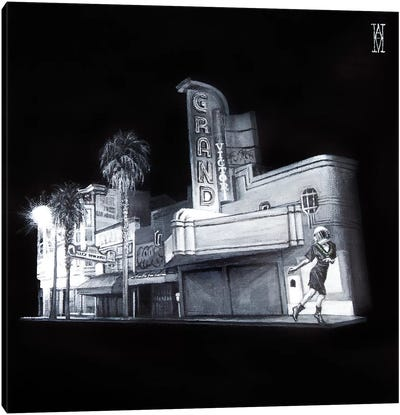 The Picture House Canvas Art Print