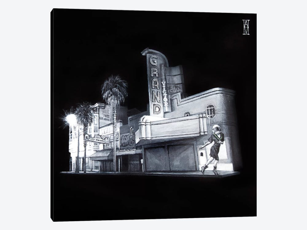 The Picture House by Alec Huxley 1-piece Canvas Artwork