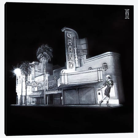 The Picture House Canvas Print #AHU46} by Alec Huxley Canvas Wall Art