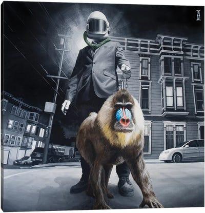 Civilized Society Canvas Art Print