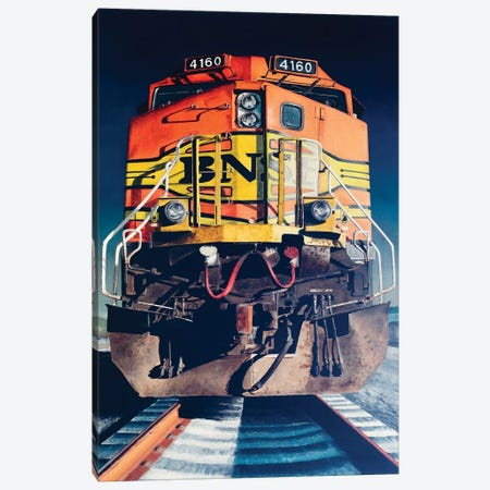 Diesel Canvas Print #AHU59} by Alec Huxley Canvas Art