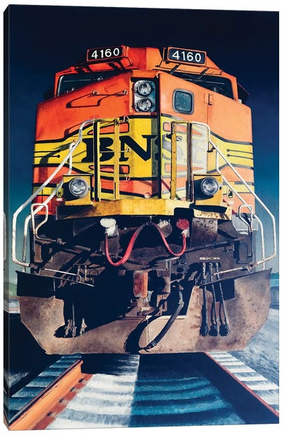 Diesel Canvas Art Print