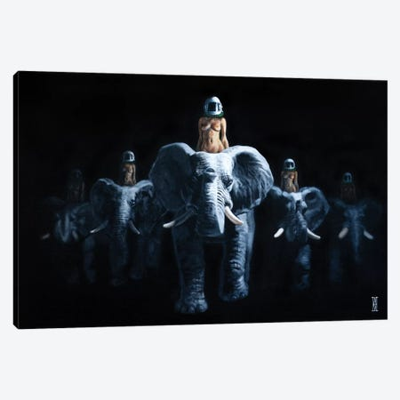 Hannibal's Dead Canvas Print #AHU61} by Alec Huxley Canvas Art Print