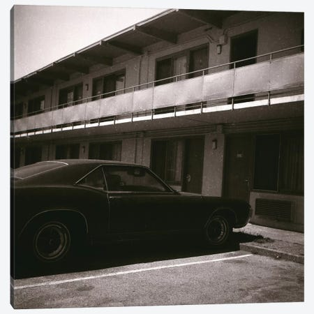 Motel Life Canvas Print #AHU63} by Alec Huxley Canvas Print