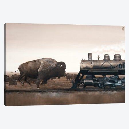 Plains Game Canvas Print #AHU66} by Alec Huxley Canvas Art