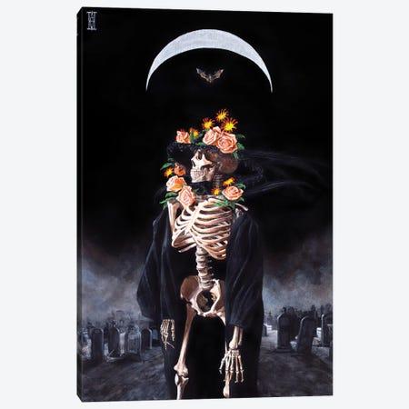 Sueno de Una Noche Lunes en el Cementerio Canvas Print #AHU67} by Alec Huxley Canvas Art