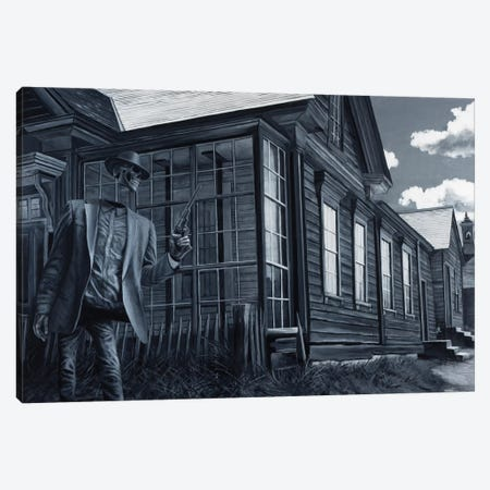 Children Of The Dust 3-Piece Canvas #AHU71} by Alec Huxley Canvas Artwork