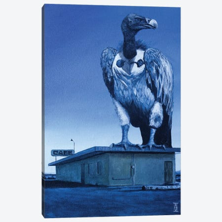 Dusk Of The Vulture Canvas Print #AHU73} by Alec Huxley Canvas Art