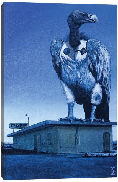 Dusk Of The Vulture Canvas Art Print