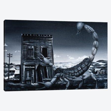 Eve Of The Scorpion Canvas Print #AHU74} by Alec Huxley Art Print