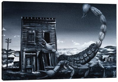 Eve Of The Scorpion Canvas Art Print