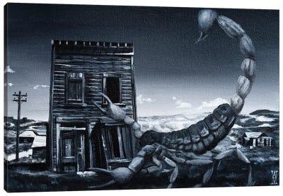 Eve Of The Scorpion Canvas Art Print